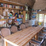 Camping schuur en bar in de Auvergne Allier.