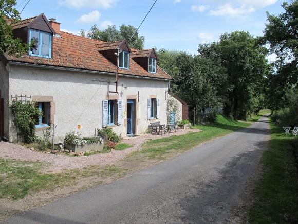 Woonhuis bij camping in de Auvergne